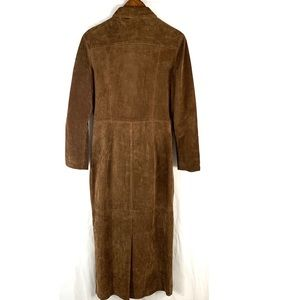 Newport News Jackets & Coats - Newport News Ladies Leather Trench Coat